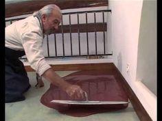 Sol béton ciré coulé - Bricolage avec Robert - YouTube