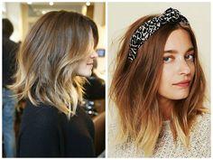 ombre+hair+color+bob | Shoulder-Length-Hair-Ombre-Balayage-Hair-Color