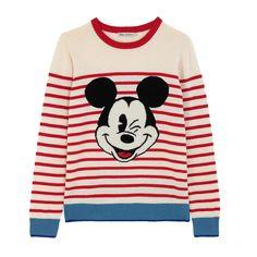 Mickey Stripe Placement Jumper   Disney x Cath Kidston View All   CathKidston