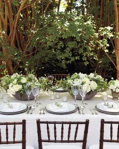 Martha Stewart Weddings, Real Weddings: Annie and Robby, Los Angeles, California Home Wedding, Formal Wedding, Garden Wedding, Diy Wedding, Wedding Events, Wedding Flowers, Wedding Ideas, Wedding Inspiration, Wedding White