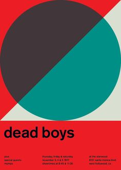 dead boys at the starwood, 1977