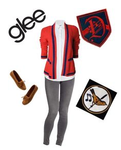 """""""Dalton Academy Warblers"""" by olivia-95 ❤ liked on Polyvore featuring Old Navy, Burberry, Madewell, women's clothing, women's fashion, women, female, woman, misses and juniors"""