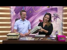 Mulher.com - 29/07/2016 - Caixa scrap decor - Marisa Magalhães PT1 video…