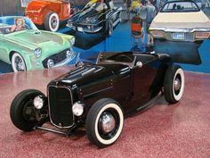 1929 FORD ROADSTER, shortened 32 grill, rusty front axel, Looks like an orig late 50s build, things sweet