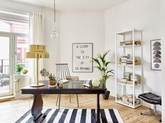 11 Decorating Ideas to Steal from the Scandinavians via Brit + Co