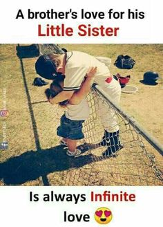 Really trueeeeei can feel it from my lovely caring brothers i really love them✌✌✌ Kaash ye mere naseeb mai bhi hota. Brother Sister Relationship Quotes, Bro And Sis Quotes, Brother N Sister Quotes, Sister Quotes Funny, Brother And Sister Love, Love Quotes For Him, Funny Quotes, Life Quotes, Siblings Funny