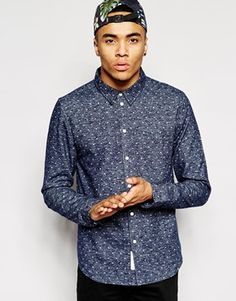 Native Youth Brushed Polka Dot Shirt