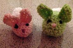 Twee kleine konijntjes!