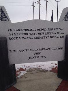 Granite Mountain Memorial, Butte, MT