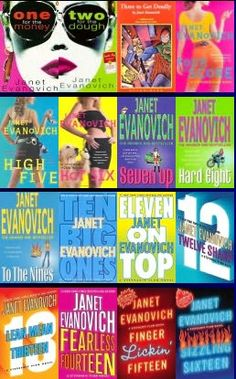My favorite author!! Every person I have ever convinced to read Janet Evanovich's books has become an obsessed fan just like me...