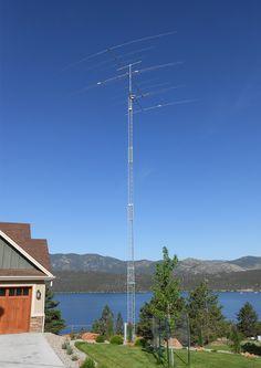 Amature radio tower