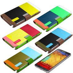Wallet Case for Galaxy Note 3 #samsung #note3 #offer # case #cover #wallet #fashion