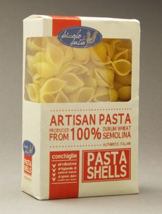 Pasta Packaging by Jill Gunter, via Behance