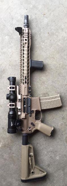 Custom AR build of a friend.