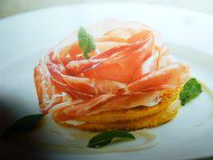 polenta ricette - gratinata con speck