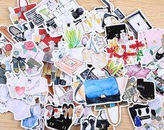 Cosmetic stickers planner stickers Erin Condren by Dokkipaper