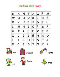 Christmas Word Searches