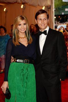 Ivanka Trump - Red Carpet Arrivals at the Met Gala