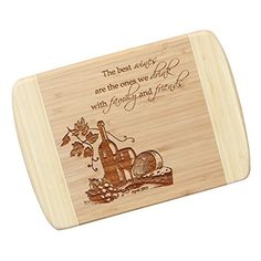 Wine Lover's TB15 Personalized Cutting Board