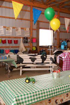 John Deere Farm Party