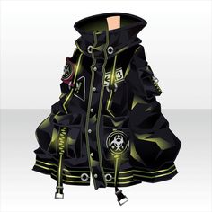 NEON-GHOST|@games -アットゲームズ- Anime Outfits, Boy Outfits, Cute Outfits, Character Outfits, Character Art, Modelos Fashion, Drawing Anime Clothes, Fashion Design Drawings, Anime Costumes
