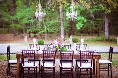 Brunswick Town / Fort Anderson Wedding Tablescape