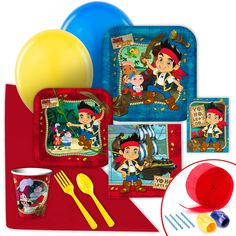Disney Jake and the Never Land Pirates Value Party Pack from BirthdayExpress.com