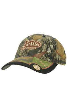 Justin Boots® Mossy Oak Break Up Camo 12 Gauge Cap | Cavender's Boot City