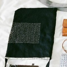 刺し子の布バッグ