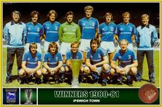 Ipswich Town, Football, Baseball Cards, Finals, Sports, Vintage, Europe, Soccer, Hs Sports