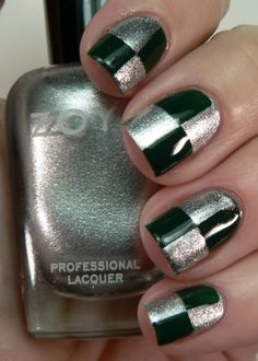slytherin nails