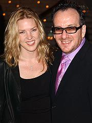 Diana rall & Elvis Costello  What a pair !!