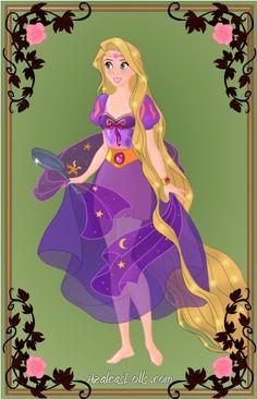 Super Heroine Rapunzel by Arimus79.deviantart.com on @deviantART