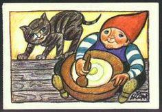 """""""Norske nisser nyser ikke, når det blæser koldt fra Nord låser de med nissenøgler deres nissenæsebor."""" Henry Heerup nisse"""