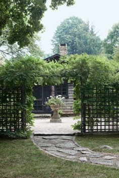 Use plants like a pro to create a living privacy screen. #PrivacyLandscaping