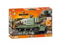 Stavebnica tanku KV2 edícia World of Tanks