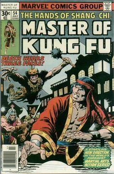 Master of Kung Fu # 54 by Jim Starlin