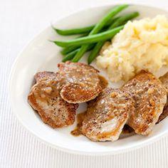 Sautéed Pork Cutlets with Mustard-Cider Sauce Recipe - America's Test Kitchen