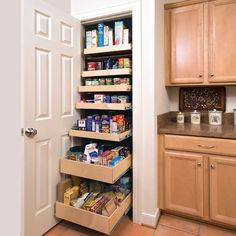 Slide Out Kitchen Pantry Drawers: Inspiration | Kitchen Ideas ...