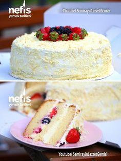 Fruit Giant Birthday Cake (Video) – Leckere Rezepte – Winter And New Year Giant Birthday Cake, Birthday Cake Video, Yummy Recipes, Yummy Food, Baileys Torte, Cakes Plus, Cake Videos, Food Cravings, Vanilla Cake