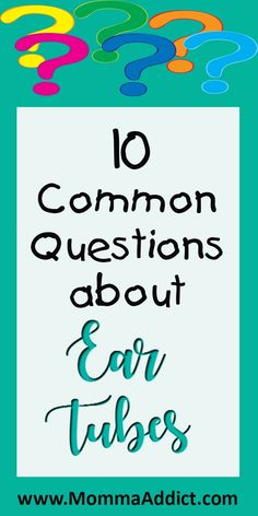 10 Tremendously Common Ear Tube Questions Parents Frequently Ask - Momma Addict Mom Advice, Parenting Advice, Water In Ear, Fluid In Ears, Ear Infection Home Remedies, Ear Tubes, Language Development, Toddler Preschool, Toddler Activities
