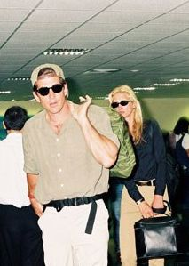 J.F.K. Jr. and Carolyn Bessette trying to fly below the radar on their honeymoon, in Istanbul, Turkey, October 1996. By H.H.A./SIPA.