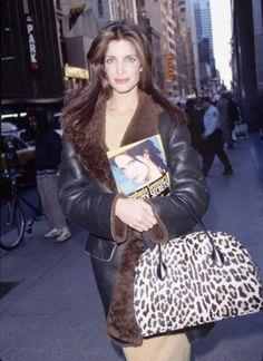 Stephanie Seymour dans les rues de New York livre mannequin beauté François Nars
