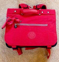 Red Kipling Rucksack NEW with monkey. School Bag