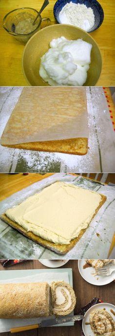 Banana Cream Cheese Roll
