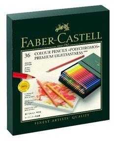 Polychromos 36 Pencil Studio Set Faber-Castell http://www.amazon.com/dp/B000UEAKC4/ref=cm_sw_r_pi_dp_LdJGub1TN23RK