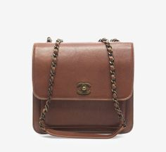 Brown Small Shoulder Bag / by Chanel