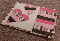 Heart+Mug+Rug+by+HollowQuilts+on+Etsy,+$12.00