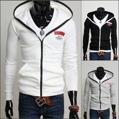 Tienda Online 2015 nuevo de polar Cardigan chaqueta con capucha e64b7066aee47