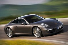 The 2013 Porsche 911 Carrera 4 ($91,000-$118,000) sports the active all-wheel drive Porsche Traction Management system to ensure you can get where you need to go even when the conditions are less than perfect. Other features include a standard 7-speed manual gearbox, an optional 7-speed dual-clutch PDK automatic transmission, 350 hp for the standard model and 400 hp for the 4S, optional Adaptive Cruise Control, and either a Coupe or open-topped Cabriolet body.